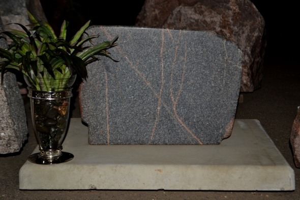 Stone Cemetery Monument