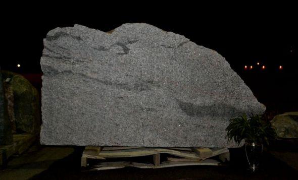 Natural Glacial Boulder For Signage