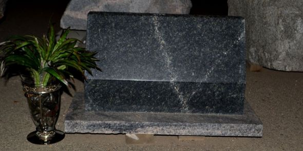 Traditional Granite Polished Memorial